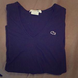 Lacoste Tops - Lacoste women's long sleeve t-shirt